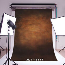5X7FT Photography Backdrop Polyester Retro Brown Abstract Photo Background 8177
