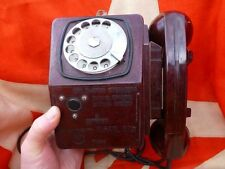 Very RARE VTG Russian USSr explosion-proof wall telephone TAH-B 1970s