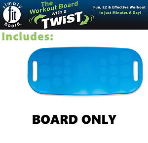 Simply Fit Board The Workout Balance Board with a Twist, As Seen on TV, BLUE