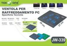 Base Con 5 Ventole Cooler Cooling Raffreddamento Notebook Pc Portatile 3 Velocit