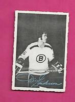 1970-71 DECKLE EDGE # 5 BRUINS DEREK SANDERSON   CARD (INV# C6690)