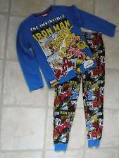 Boys Avengers Long Cotton Pyjamas 3-10 Years Ironman Hulk Captain America Thor
