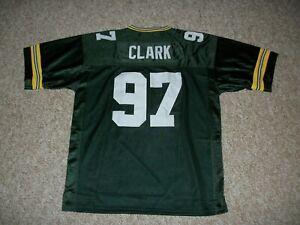 KENNY CLARK Unsigned Custom Sewn New Football Green Bay Jersey S, M,L,XL,2XL,3XL