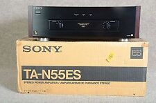 "SONY TA-N55ES Stereo POWER AMPLIFIER ""PERFECT MINT CONDITION"""