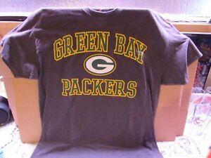 Green Bay Packers T-Shirt - XL - Majestic Brand