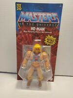 X - NEW 2020 Masters of the Universe Origins Walmart He-Man Battle Figure MOTU