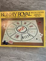 Vintage 1981 Whitman Rummy Royal Deluxe Edition Board Game Complete