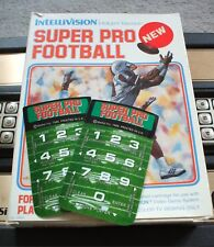 BRAND NEW SUPER PRO FOOTBALL ORPHAN OVERLAYS FOR INTELLIVISION GAME