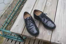 Black Leather Shoes Lace up Size UK 10.5 by Clarks