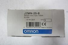 OMRON J7MN-25-8 INTERRUTTORE AUTOMATICO PROTEZIONE MOTORE (SALVAMOTORE) 5,5-8A