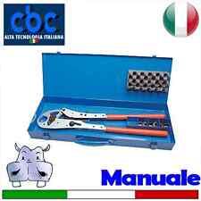 Pressatrice manuale con coppie inserti 14-16-20-25 – U (9640025)