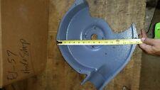 """BALDOR 12"""" BENCH GRINDER LEFT SIDE GUARD G2FH1805A01 INSIDE W/O COVER"""