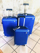Nautica 3 Piece Hardside 4-Wheeled Spinner Luggage Set