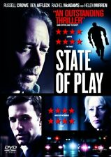 State Of Play [DVD], Good, DVD, FREE & FAST Delivery