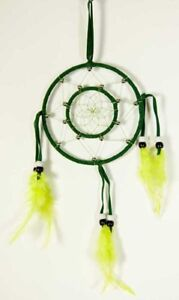 Dream Catcher Circles Green