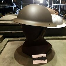 WWII UK Army Original Early World War 2 MK2 British Tommy Steel Helmet
