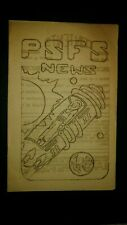 Science Fiction Fanzine Convention Sci Fi 1939 Philadelphia Psfs autographs