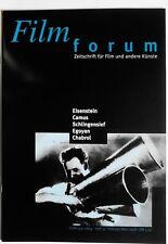 Filmforum Nr. 10 1998 Chabrol/Egoyan/Schlingensief/Camus/Eisenstein #1