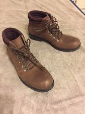 Kenneth Cole Men Mid Calf Boots Brown Leather size 7.5M
