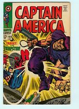 Captain America #108 8.0 VF Jack Kirby Avengers Silver Age Marvel Comic Book