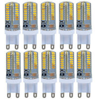 10 x G9 LED Ampoule Lampe AC220-240V 6W 64 LEDs SMD 3014 Blanc Froid/Chaud
