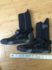 Warmers Aqua Purge 5/7 Wetsuit Booties Size 5 Mens