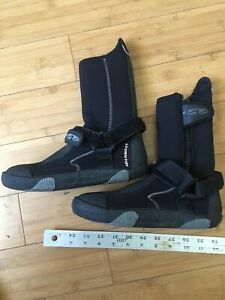 Warmers Aqua Purge 5/7 Wetsuit Booties Size 5 Mens