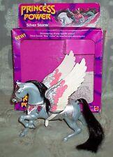 Princess of Power Silver Storm Pegasus Horse Complete Loose She-Ra Figure