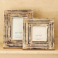 Deko-Bilderrahmen im Shabby-Stil aus Holz fürs Wohnzimmer