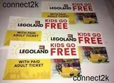 KID CHILD GO FREE w/paid Adult Legoland Email Code in MINS Exp 12/31/2020