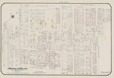 1913, CHARLES E. GOAD, MONTREAL, CANADA, CITY OF WESTMOUNT, COPY PLAT ATLAS MAP