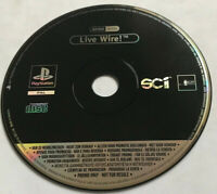 Live Wire! (Live Wire) / Rare Full Game Promo Version / PS1 Playstation 1 PS2