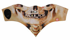 Airhole Skull Ski and Snowboard 2 Layer Facemask warm scarf M/L with mouth hole