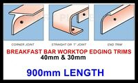Kitchen Worktop Breakfast Bar Edging Joining Strips Trims 900mm *FREE DELIVERY*