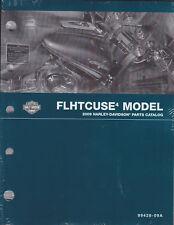 2009 Harley FLHTCUSE4 CVO Ultra Classic Electra Glide Parts Part Catalog Manual