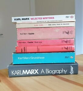Karl Marx : Vintage books, 70s London assorted. Good condition.