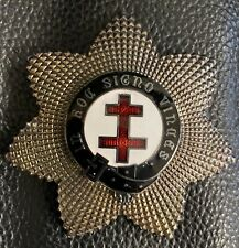 Masonic Knights Templar Past Preceptors Breast Star