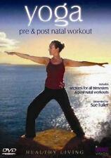 YOGA PRE NATAL AND POST NATAL WORKOUT HEALTHY LIVING DVD Original UK Rele New R2