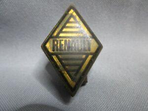 FR228 Monogramme  RENAULT vintage sigle emblème logo insigne