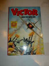 THE VICTOR BOOK for BOYS - Annual - Year 1989 - UK Annual ( Price Tab removed)