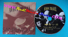 CD Singolo Piccola Orchestra Avion Travel Dormi E Sogna INS.014 PROMO 1998(S26)