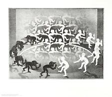 MC Escher Begegnung Poster Kunstdruck Bild 55x65cm