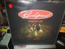 GODSPEED Swimmer's Ear LP ALL 3 COLORS 180 GRAM RED + WHITE + PINK w/PIN SET