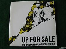 THE (INTERNATIONAL) NOISE CONSPIRACY.. Up For Sale (3 Track Promo CD Single)