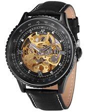 Reloj de Pulsera KS Royal Talla esqueleto mecánico automático de lujo Negro Para hombres KS1