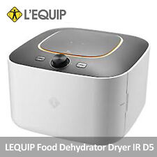 LEQUIP IR D5 Food Dehydrator Dryer Stainless 5 Trays Timer Temperature Control