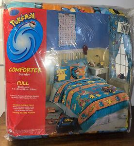 RARE VINTAGE Nintendo Pokemon Full Comforter NEW In Original Package POKEBLAST