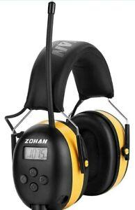 ZOHAN EM042 AM/FM Radio Headphone with Digital Display, Ear Protection
