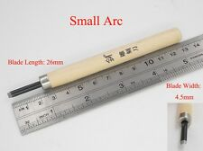 M01531 MOREZMORE 4.5mm Round Clay Wood Carving Chisel Knife Cutter Tool IZB