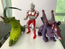 Majaba vintage 1990 Ultraman Bogun Barangas figures and set used